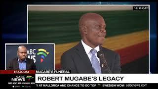 Robert Mugabe funeral wraps up: Tino Mambeu gives analysis