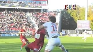 Dijon - psg 3-2 - 8ème de finale coupe de la ligue 2011-2012