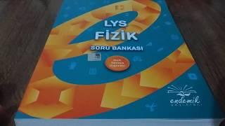 Endemik Yayınları AYT Fizik Soru Bankası İnceleme