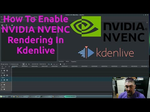 How To Enable NVIDIA NVENC Rendering In Kdenlive