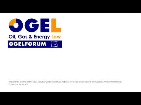 OGEL 4 (2017) - Liquefied Natural Gas (LNG)