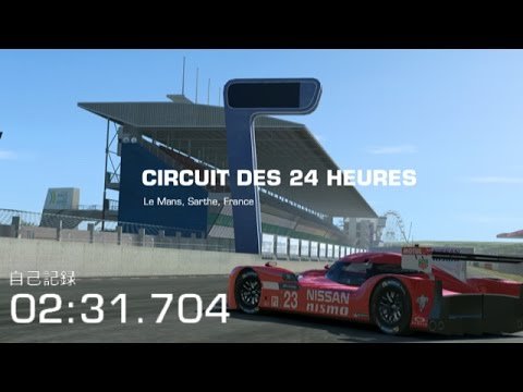 Real Racing 3 WTT NISSAN GT-R LM NISMO(2015) Le Mans