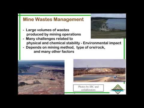 Dr. Michel Aubertin: Mine Wastes Management @ RIME Part 1