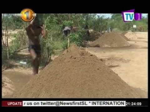 Action TV unearths the politics behind issuing permits for sand-mining
