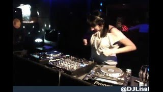 Lisa Lashes Live - Basement Boutique #Techno Session
