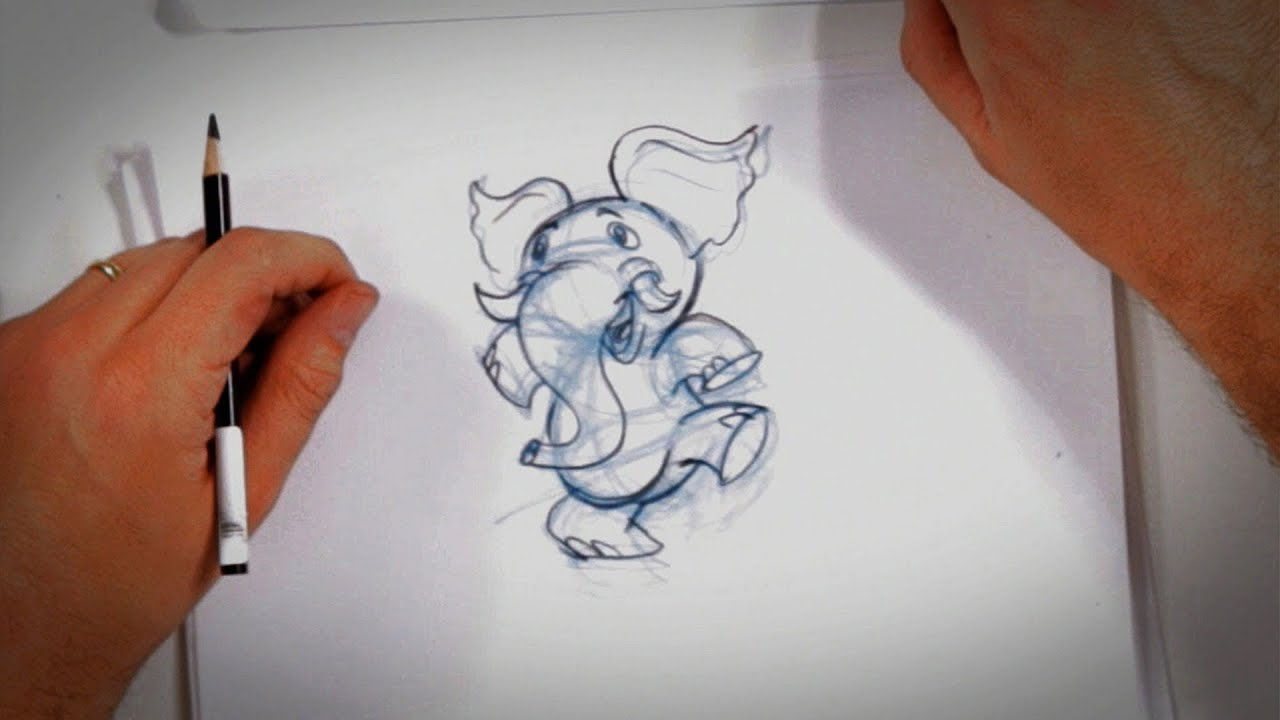secrets of drawing cartoons drawing tips youtube baby elephant clipart images elephant clipart free