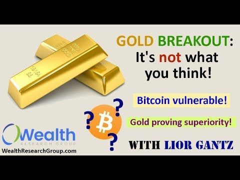 Gold Breakout: It's Not What You Think! w/ Lior Gantz. + bitcoin, marijuana stocks, & more