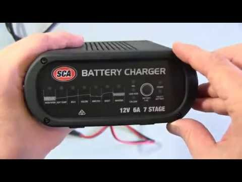 Sca Automatic Car Battery Charger Review 12v 6a