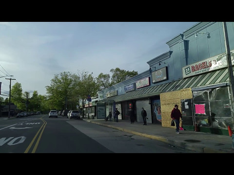 Driving from Jamaica Estates to Little Neck in Queens,New York