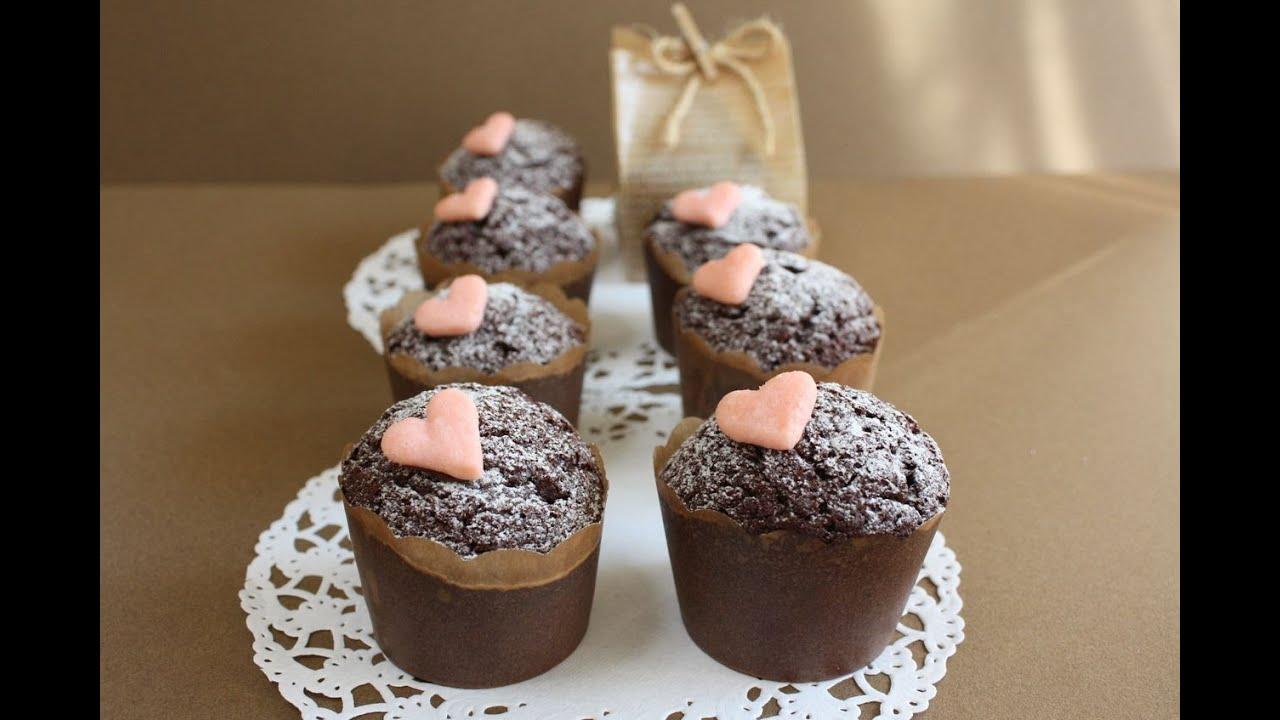 カップ ケーキ バレンタイン