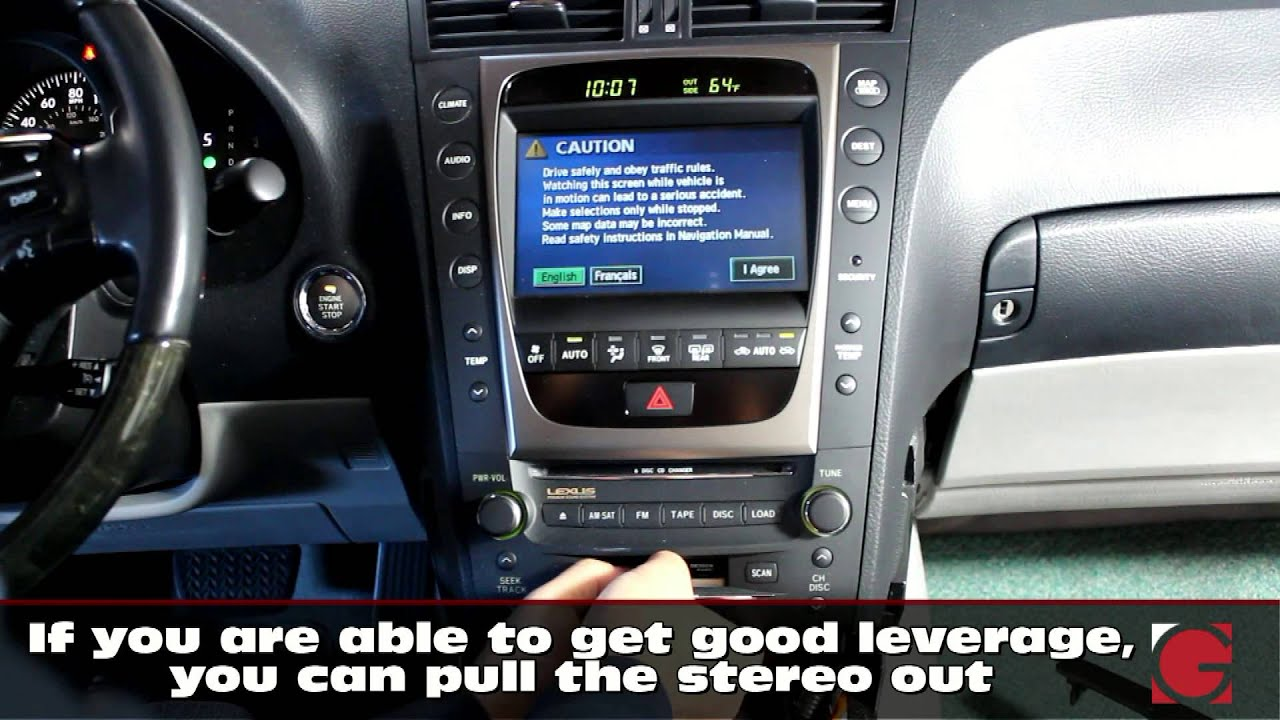 2006 Lexus GS300 GROM USB Android iPhone Bluetooth Car Kit
