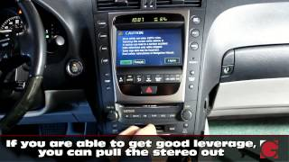 2006 lexus gs300 grom usb android iphone bluetooth car kit installation car stereo removal guide