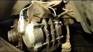 видео Тормозной передний цилиндр. Разработка Тормозного Цилиндра ВАЗ 2101-2107