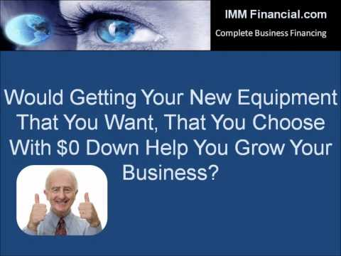 IMM Financial - Business Equipment Leasing | Commercial Equipment Loan | Computer Leasing