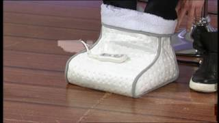 Mia LIVE ON AIR: FW 5182 2-in-1 Fußwärmer mit Massagefunktion