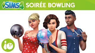 Les Sims 4 Kit d'Objets Soirée Bowling : bande-annonce officielle