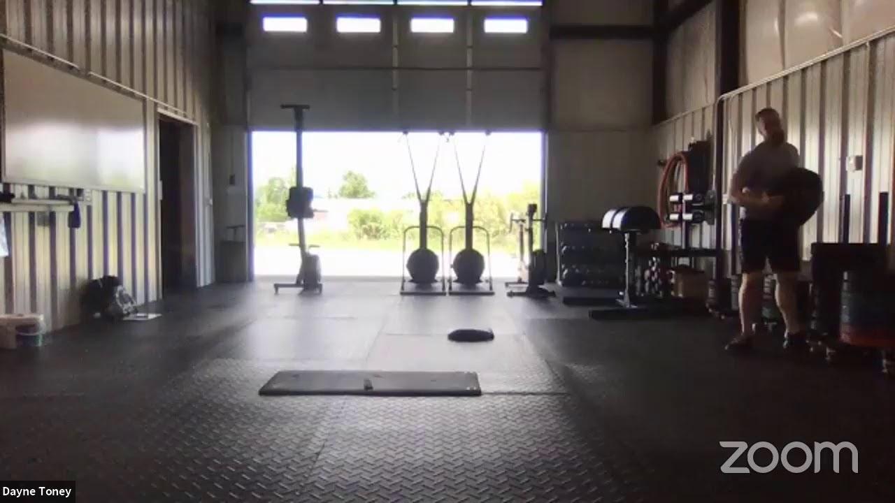 Live workout 6/24/20