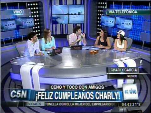 C5N - DE1A5: EL CUMPLEAÑOS DE CHARLY GARCIA (PARTE 4)