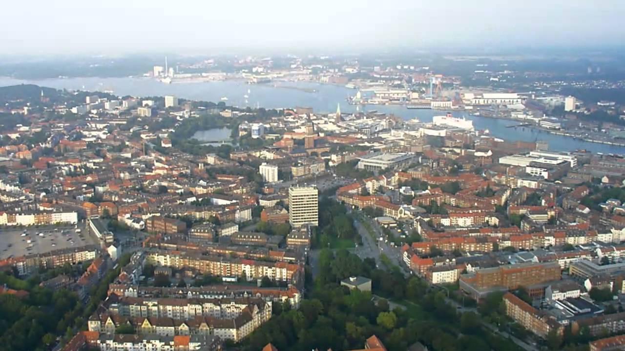 Ballonfahrt Uber Kiel 2004 Start In Kiel Gaarden Werftpark In