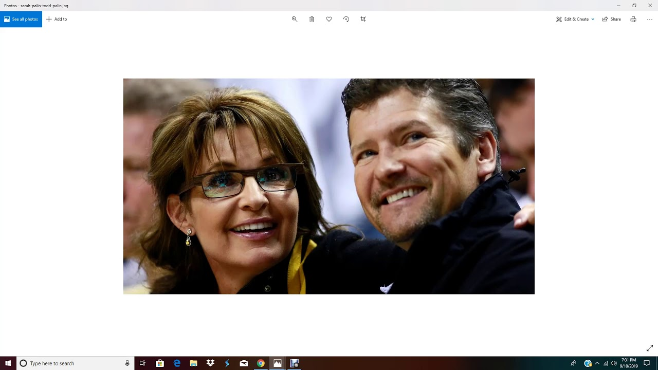 Todd And Sarah Palin Divorce