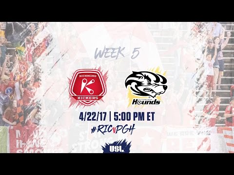 USL LIVE - Richmond Kickers vs Pittsburgh Riverhounds 4/22/17