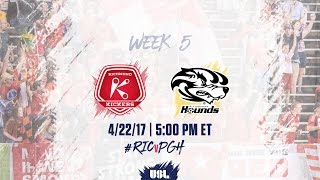 Richmond Kickers vs Pittsburgh Riverhounds full match