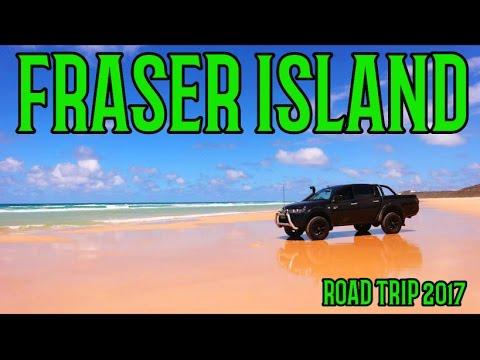 Fraser Island road trip 2017