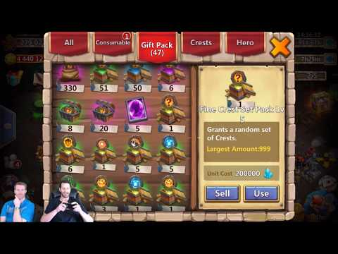 JT's Main 150 Talent Refresh Cards Live With Infinititman Castle Clash