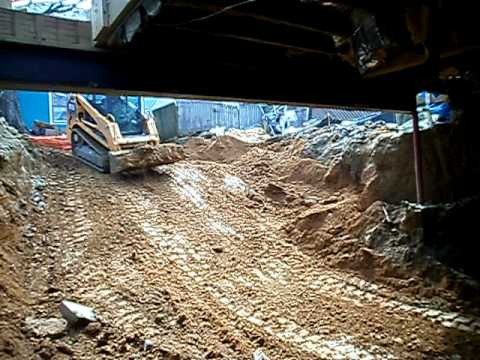 Crawl space conversion to a full for Convert crawlspace to basement cost
