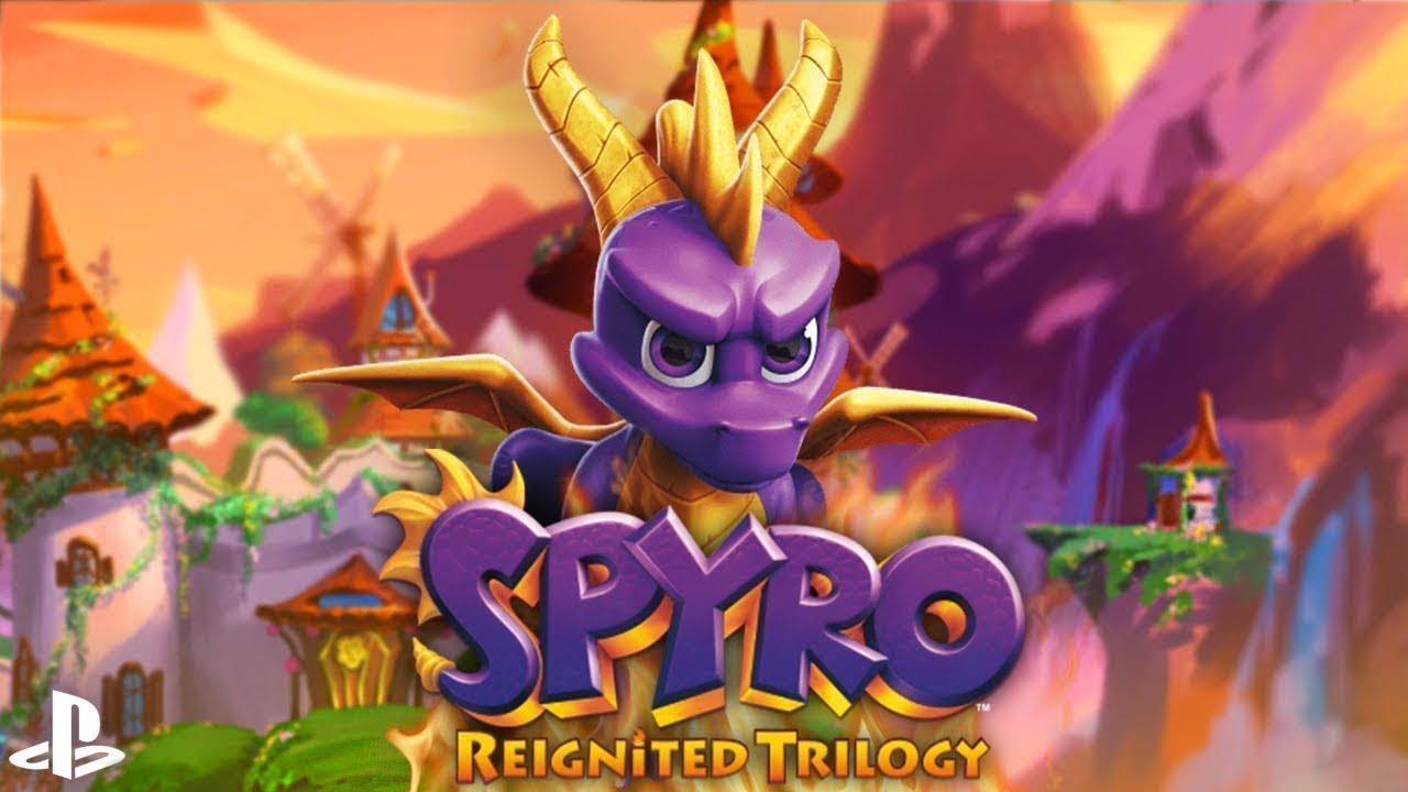 Spyro Reignited Trilogy #30 - Zaczarowane Wieże (cz. III #7) I PS4 I HD I Polski Dubbing