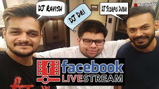 DJs In Conversation | DJ Ravish, DJ Scorpio Dubai & DJ Dri | Facebook Live Chat