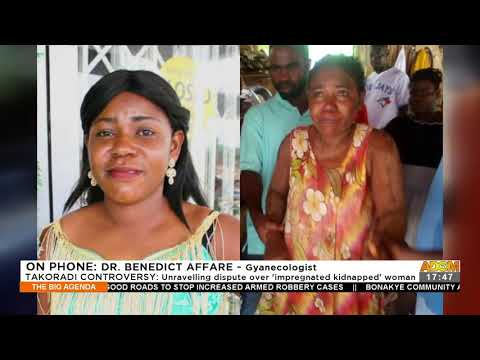 Unravelling dispute over 'impregnated kidnapped' woman - The Big Agenda on Adom TV (22-9-21)