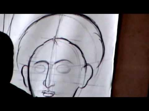 Видеоурок иконописи, мастер класс Георгиоса Кордиса, how to draw an icon