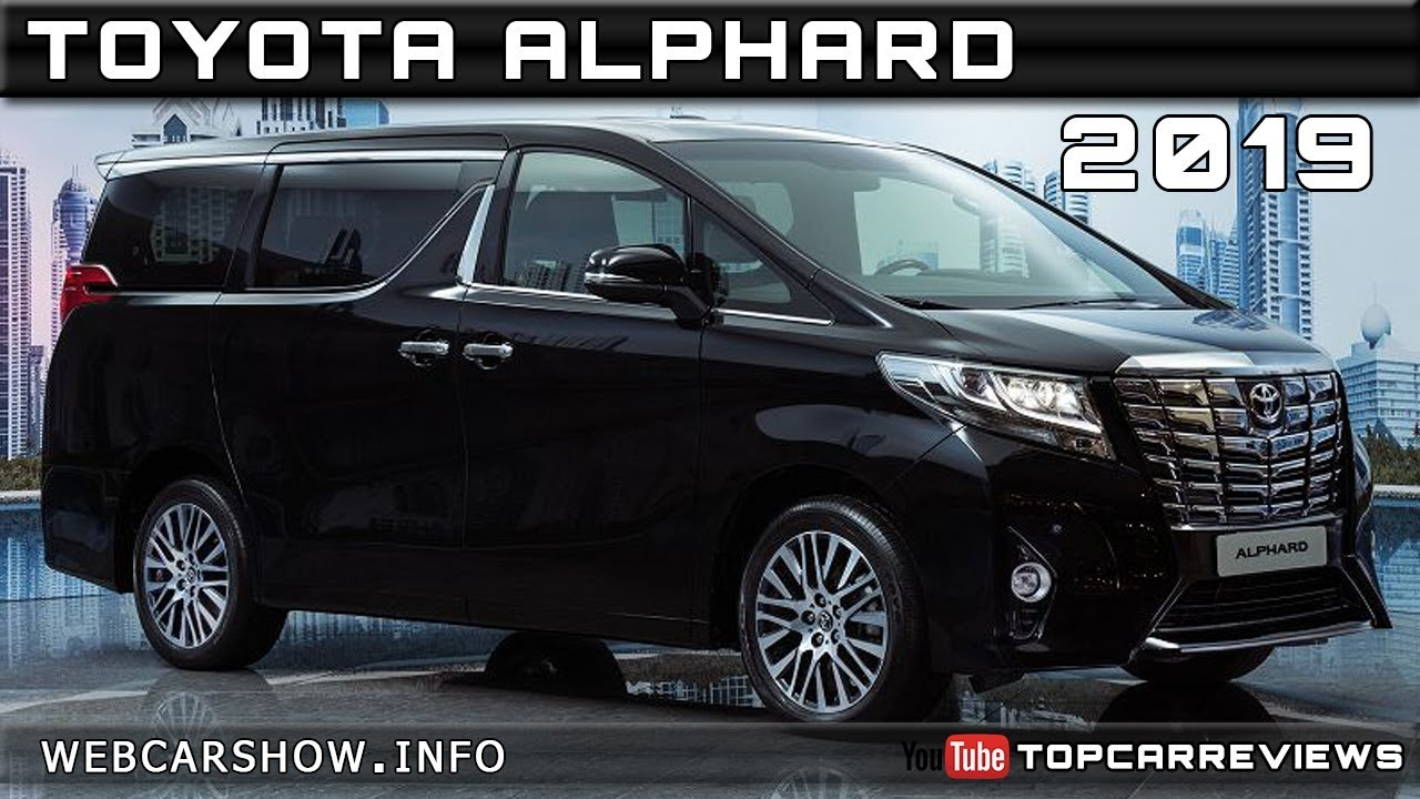 All New Alphard 2019 Camry Headlightmag Toyota Review Rendered Price Specs Release Date Youtube