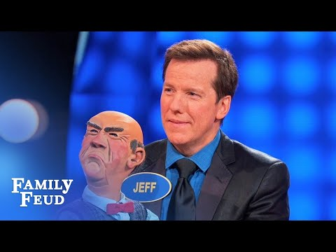 Watch out Steve! Walter ain't no dummy | Celebrity Family Feud