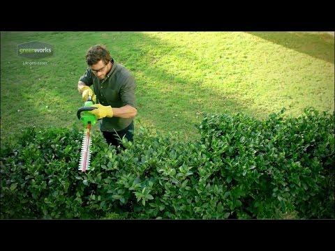 Greenworks G-MAX 40V 24 in. Cordless Hedge Trimmer - 22262
