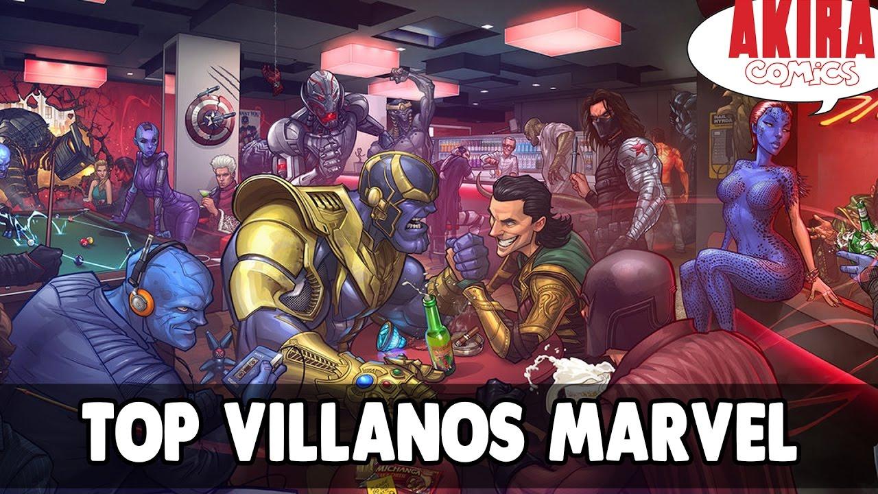 Top Mejores Villanos De Marvel Akira Comics Youtube
