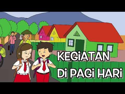 Kelas 1 Tema 3 Subtema 1 Mencari Kata Tersembunyi Video Pendidikan Indonesia Youtube
