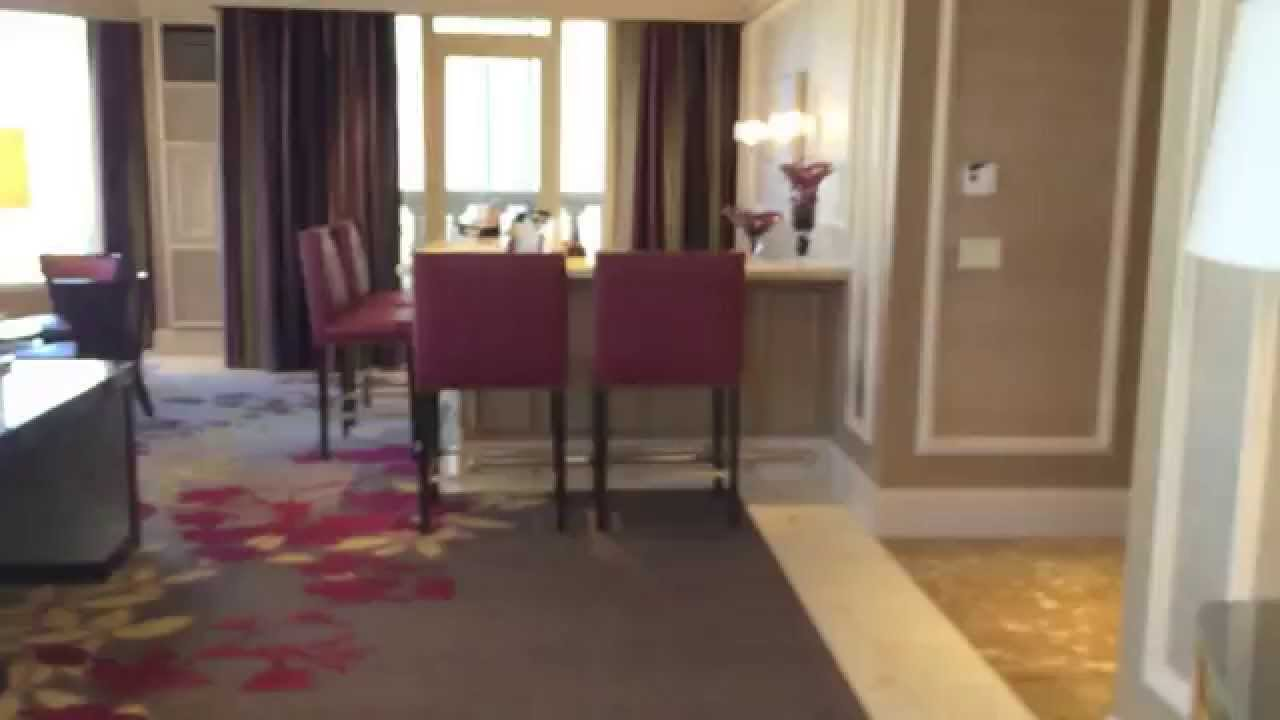 Bellagio Grand Lakeview Suite (Room 35001) - YouTube
