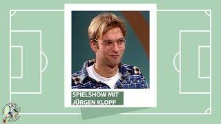 Jürgen Klopp (FSV Mainz 05) in Spielshow mit Mike Krüger (1995) I ZwWdF