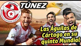 Mundial 2018 - TÚNEZ, las Águilas de Cártago en su quinto Mundial