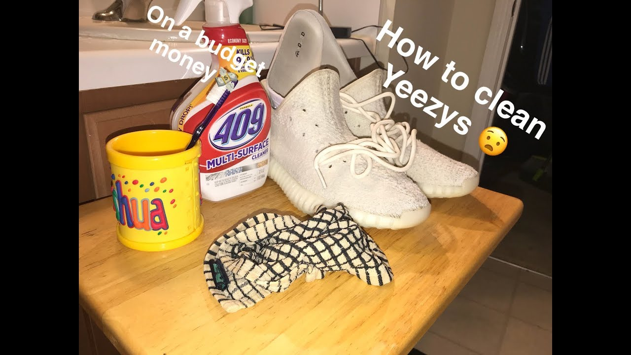 HOW TO CLEAN YEEZY WITH HOUSEHOLD ITEMS