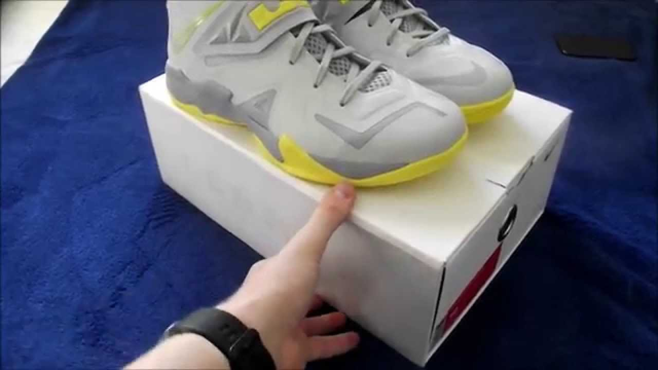 Nike LeBron Soldier 7 Pure Platinum Wolf Grey Sonic Yellow