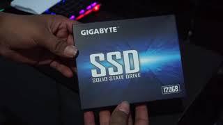 Unboxing Gigabyte 120 GB SSD SATA