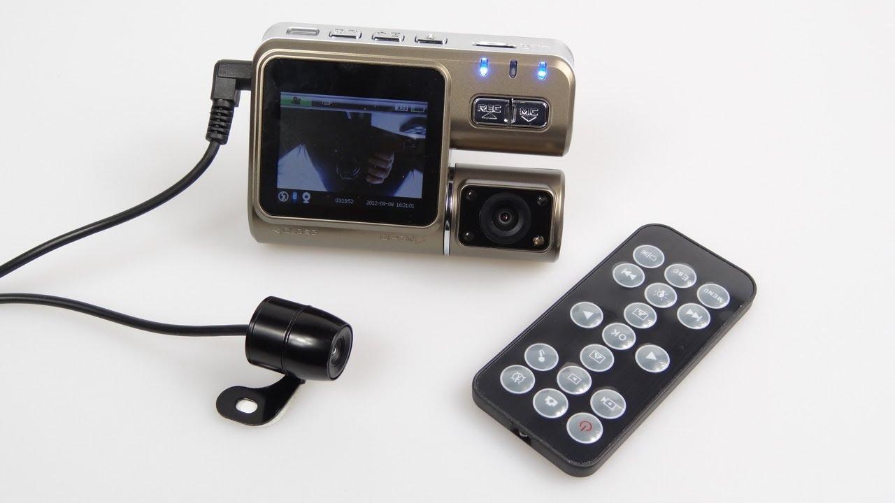 review front rear hd car dash cam funnydog tv. Black Bedroom Furniture Sets. Home Design Ideas