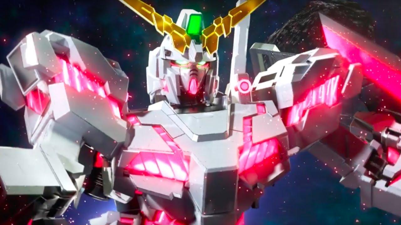Gundam Versus Official Gundam Unicorn Character Trailer - YouTube