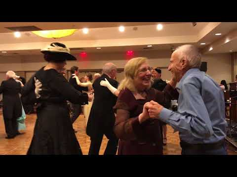 Saturday Dancing at the West Coast Ragtime Festival November 2017