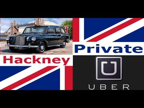 UK Taxi Types