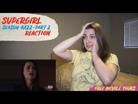 "Supergirl Season 4 Episode 22 ""The Quest For Peace"" REACTION Part 2"