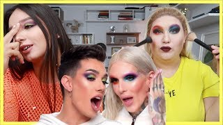 REFACEM un TUTORIAL cu JAMES CHARLES si JEFFREE STAR
